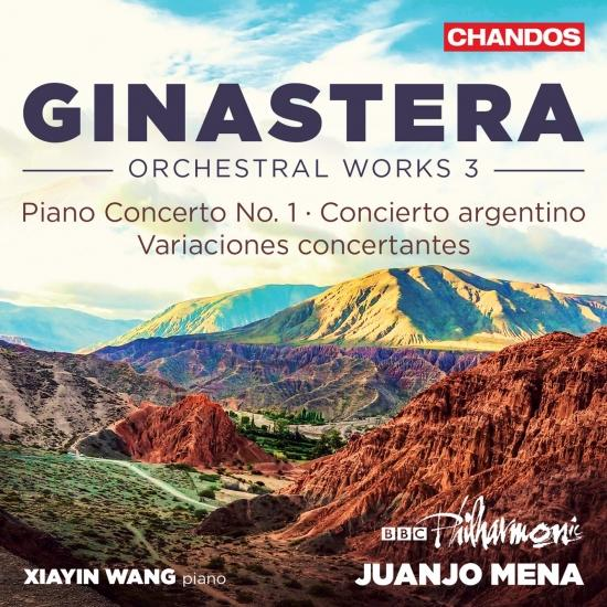 Cover Ginastera: Orchestral Music, Vol. 3