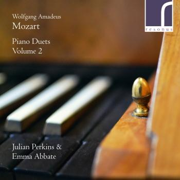 Cover W.A. Mozart: Piano Duets, Volume 2