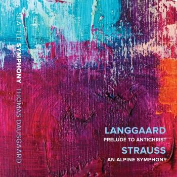 Cover Langgaard: Prelude to 'Antichrist' - R. Strauss: An Alpine Symphony (Live)