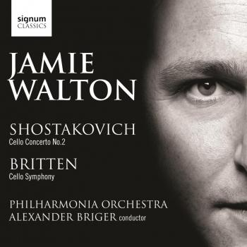 Cover Shostakovich, D.: Cello Concerto No. 2 / Britten, B.: Cello Symphony