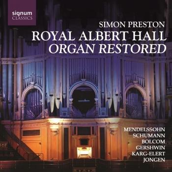 Cover Organ At The Royal Albert Hall Restored