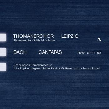 Cover J.S. Bach: Cantatas, BWV 33, 17 & 99