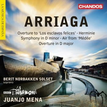 Cover Arriaga: Overtures, Herminie & Other Works