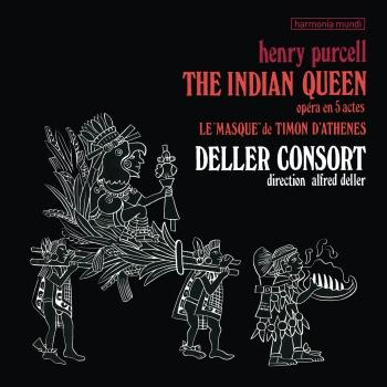 Cover Purcell: The Indian Queen (Remastered)