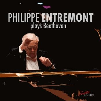 Cover Philippe Entremont plays Beethoven