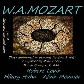 Cover Mozart: Trio K. 496 & Trio K. 442 (Completed by Robert Levin)