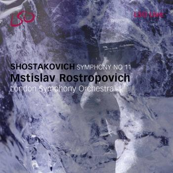 Cover Shostakovich: Symphony No. 11, 'The Year 1905'