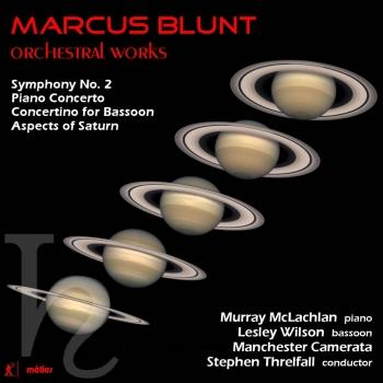 Cover Marcus Blunt: Orchestral Works