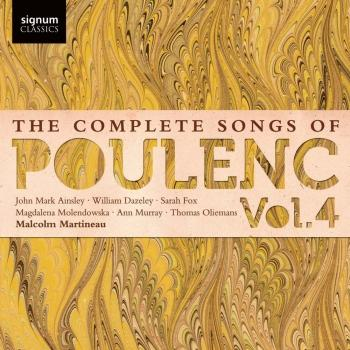 Cover The Complete Songs of Poulenc Vol. 4
