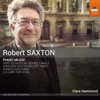 Cover Saxton: Piano Works