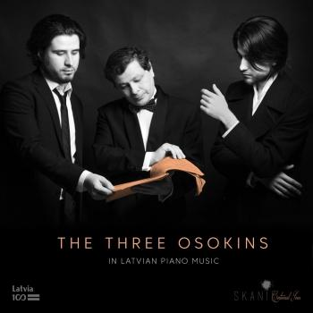 Cover The 3 Osokins in Latvian Piano Music