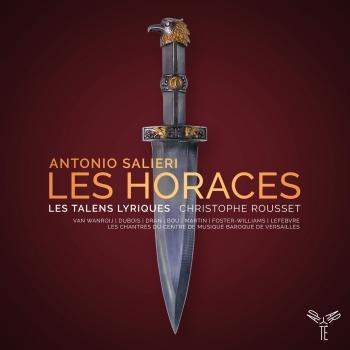 Cover Antonio Salieri: Les Horaces
