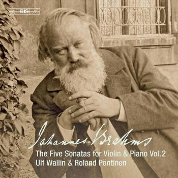 Cover Brahms: Works for Violin & Piano, Vol.2