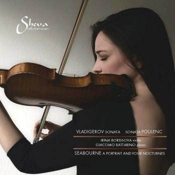 Cover Vladigerov, Poulenc & Seabourne: Works for Violin & Piano