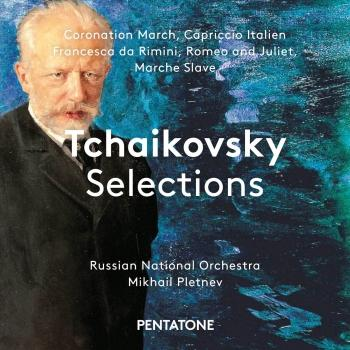 Cover Tchaikovsky Selections