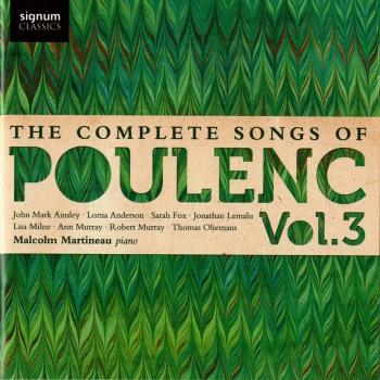 Cover Poulenc: The Complete Songs, Vol. 3