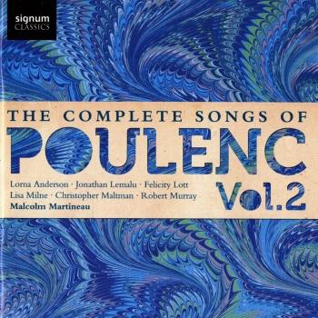 Cover The Complete Songs of Poulenc, Vol. 2