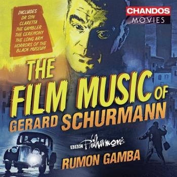 Cover Gerard Schurmann: Film Music