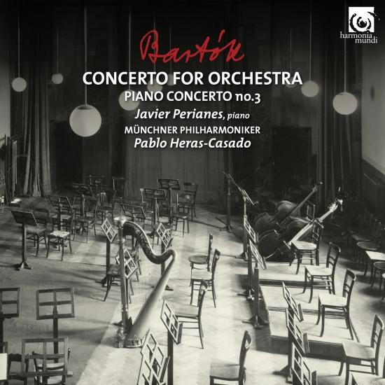 Cover Bartók: Concerto for Orchestra & Piano Concerto No. 3