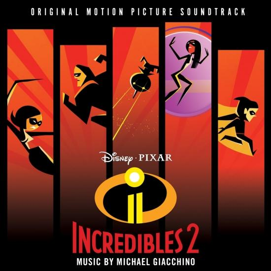 Cover Incredibles 2 (Original Motion Picture Soundtrack)