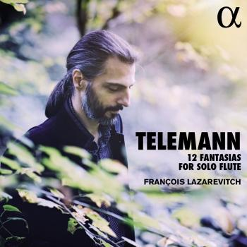 Cover Telemann: 12 Fantasias for Solo Flute