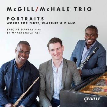 Cover Portraits: Works for Flute, Clarinet & Piano