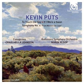 Cover Kevin Puts: To Touch the Sky / If I Were a Swan / Symphony No. 4
