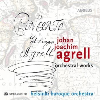 Cover Johan Joachim Agrell: Orchestral Works