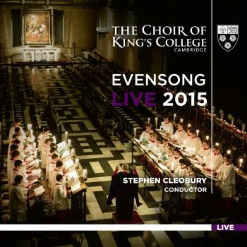 Cover Evensong Live 2015