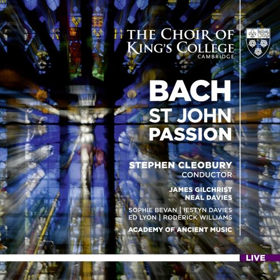Cover Bach: St. John Passion, BWV 245