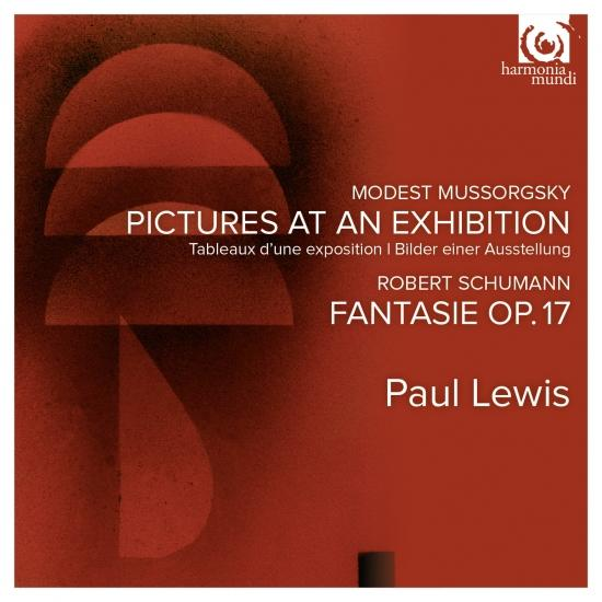 Cover Mussorgsky: Pictures at an Exhibition / Schumann: Fantasie Op. 17