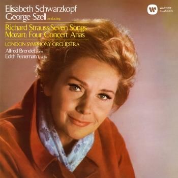 Cover Strauss: Seven Songs - Mozart: Concert Arias (Remastered)