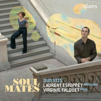 Cover Soul Mates: Contemporary Music for Saxophone & Piano