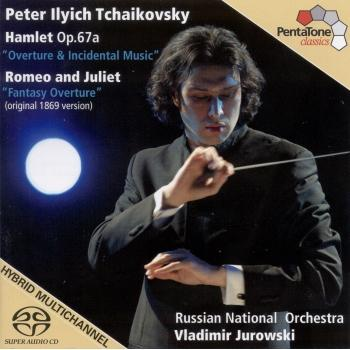 Cover Tchaikovsky, P.: Hamlet / Romeo and Juliet