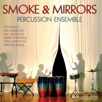 Cover Reich / Harrison / Whitacre / Tywoniuk / Takemitsu / Ravel