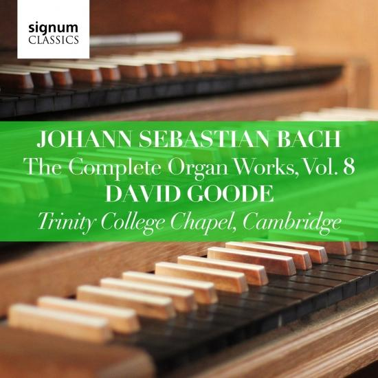 Cover J.S. Bach: The Complete Organ Works, Vol. 8