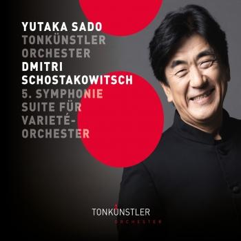 Cover Shostakovich: Symphony No. 5 & Suite for Variety Orchestra