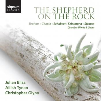 Cover The Shepherd on the Rock - Chamber Works & Lieder by Julian Bliss