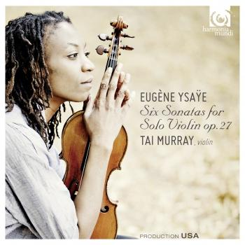 Cover Ysaÿe: Six Sonatas for Solo Violin, op. 27
