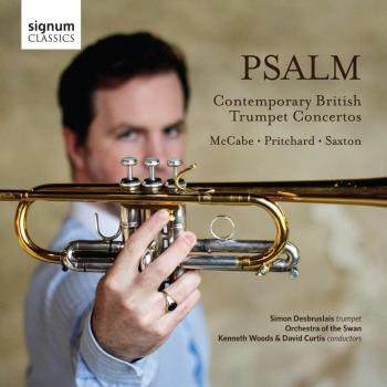 Cover Psalm: Contemporary British Trumpet Concertos