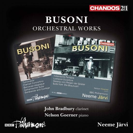 Cover Busoni: Orchestral Works